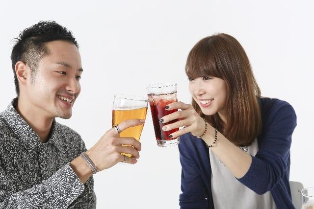 """乾杯している男女"""""""""""