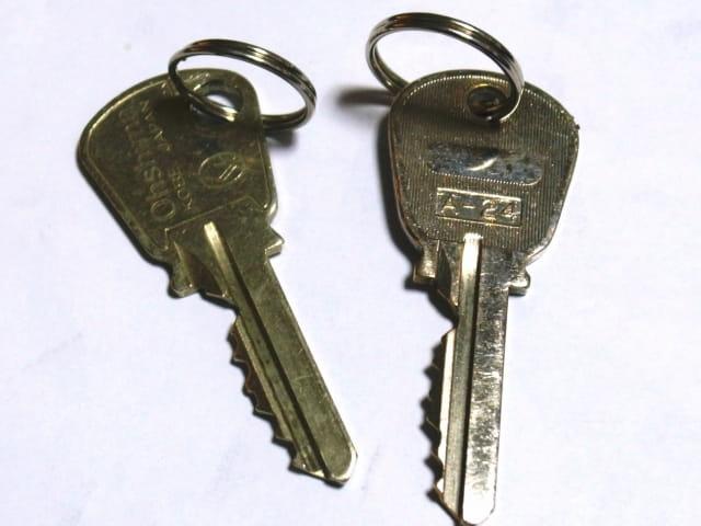 ラブラブなカップルの合鍵