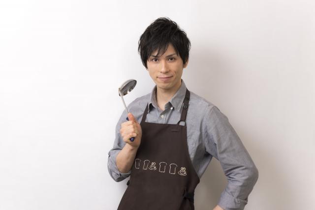 イケメン料理男子